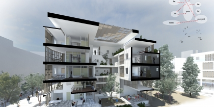 Redefining Urban Living in Central Athens